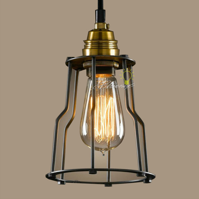 LOFT Industrial And Iron line Art Pendant lighting 7794