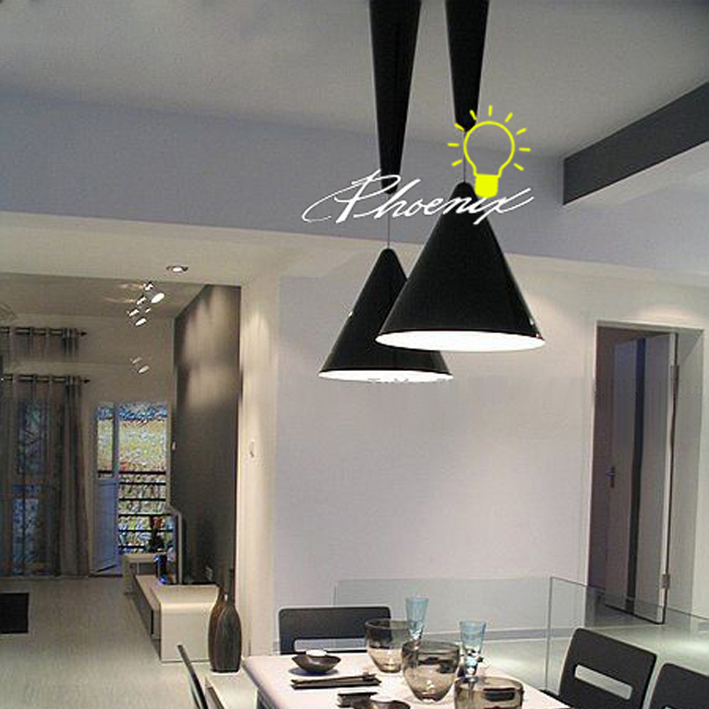Aluminium Adjustable Altitude Pendant Lighting in Baking Fi