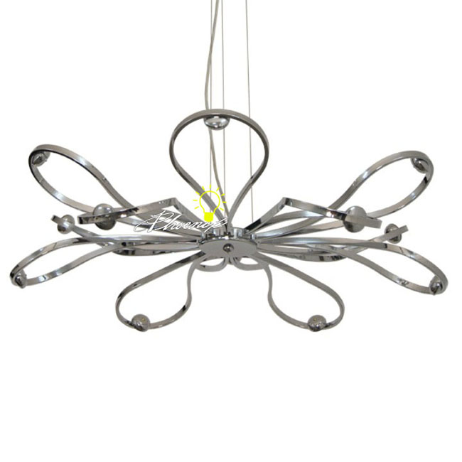 stainless steel lighting fixtures. perfect fixtures modern stainless steel 24 led pendant lighting 8182 inside fixtures