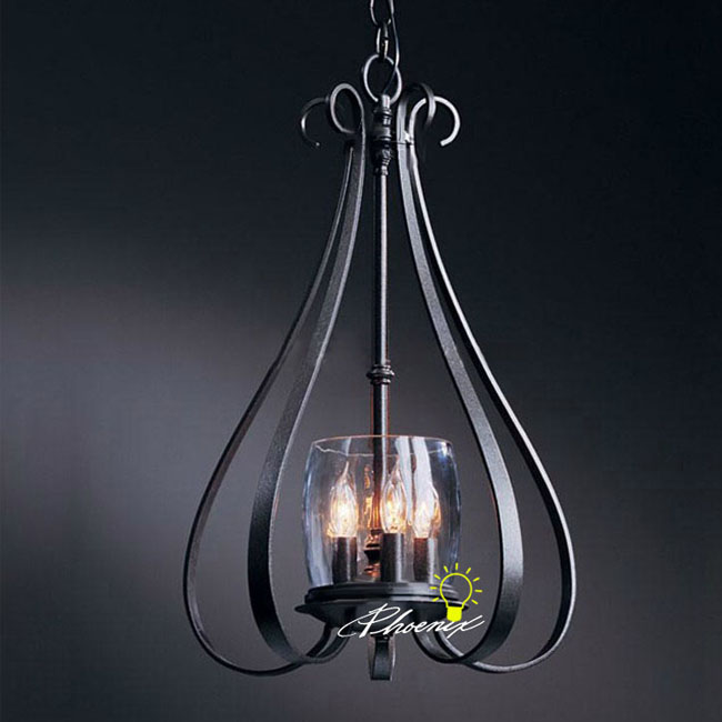 country lighting fixtures for home. country iron art and clear glass pendant lighting 8298 fixtures for home