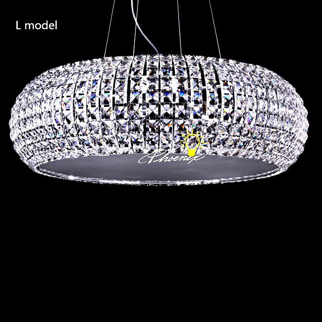 Crystal Pendant Lighting Swarovski Crystal Pendant Light