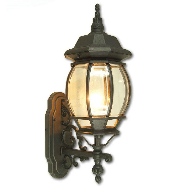 Antique Clear Glass wall Sconce 9548
