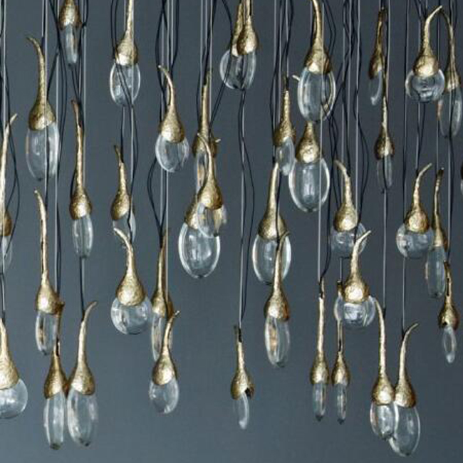Ochre Seed Cloud Pendant Lighting 13796 Browse Project