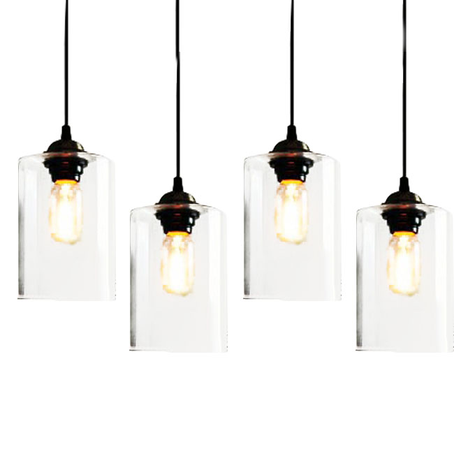 clear glass pendant lighting. clear glass jar pendant lighting 7395