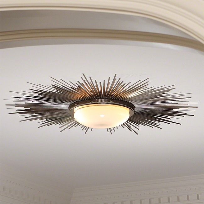 Global Views Sunburst Light Fixture 16114
