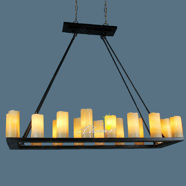Post Modern Marble Shades Chandelier 7435