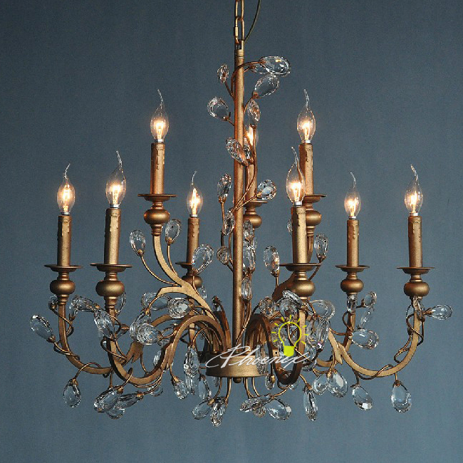 Antique Copper ASFOUR Crystal Chandelier 7473 - Antique Copper ASFOUR Crystal Chandelier 7473 : Browse Project