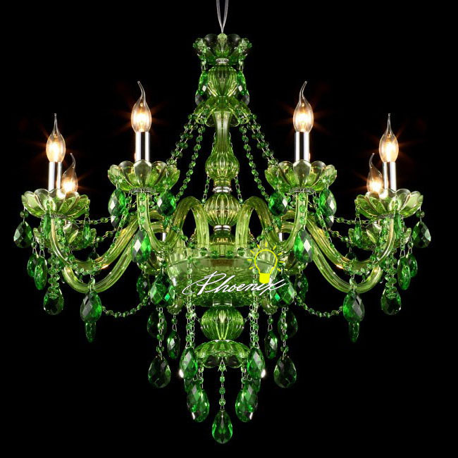 Modern Jade Green Crystal Chandelier 8943 Browse Project