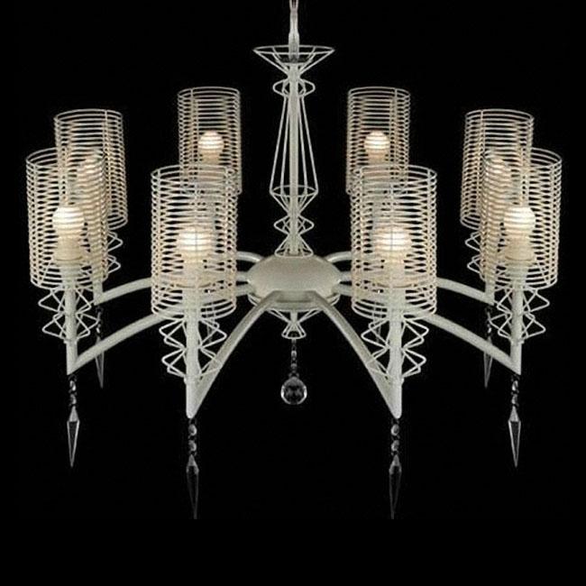 modern italy 8 lights iron art chandelier 10079 chandelier modern italy blown glass