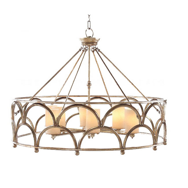 Yooker country 6 candles and metal chandelier 11100 for Country lighting fixtures for home