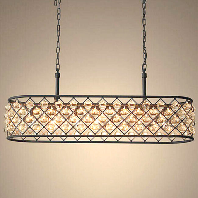 North Iron and Crystal Oblong Chandelier 11421 Browse  : 20140828173393379337 from www.phxlightingshop.com size 650 x 650 jpeg 97kB