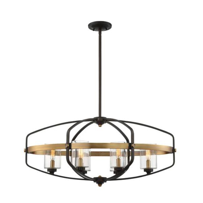 Kirkland 6 Light Trestle Chandelier 14052