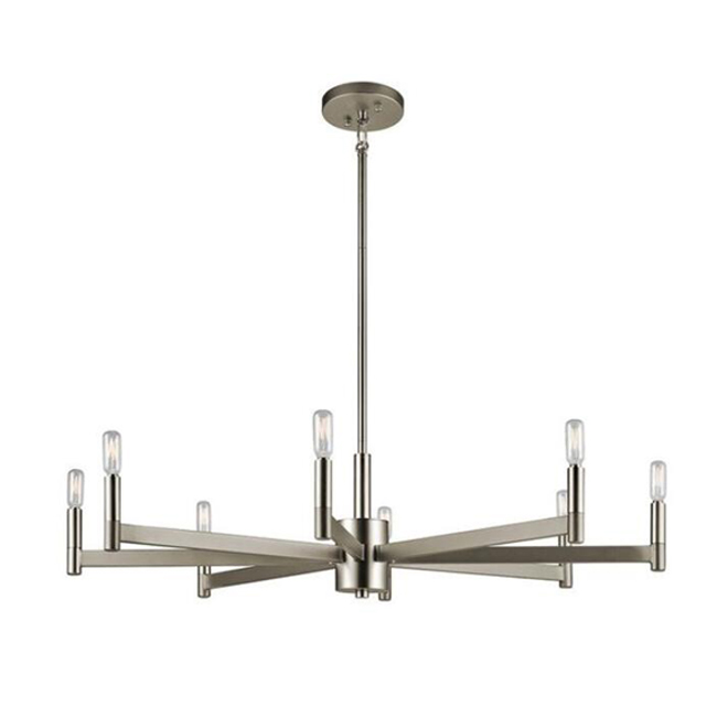 Gavin 8 Light Candle-Style Chandelier 14054