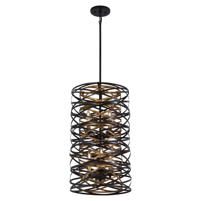 Minka-Lavery 4675-111 Vortic Flow 5 Light Pendant 16128