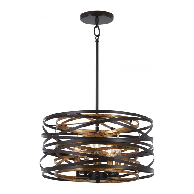 Minka-Lavery 4675-111 Vortic Flow 5 Light Pendant 16129
