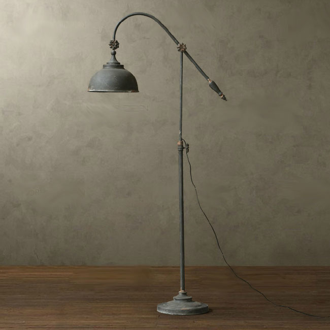 Antique Metal Floor Lamp 10721