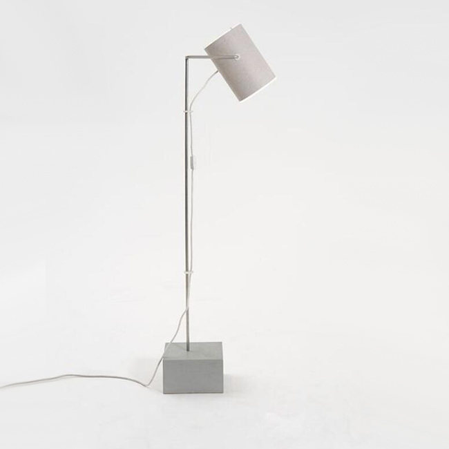 Aesthetic Cement Floor Lamp 13526