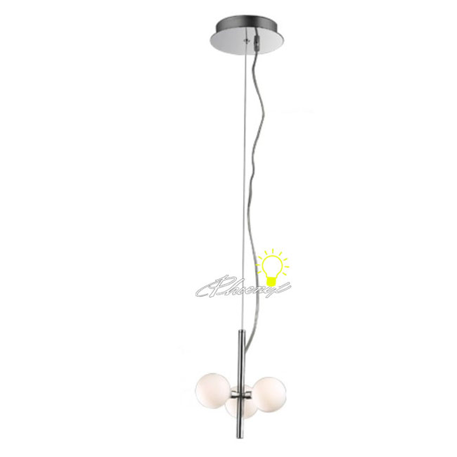 3 Depolished Glass Pendant Lighting 8320