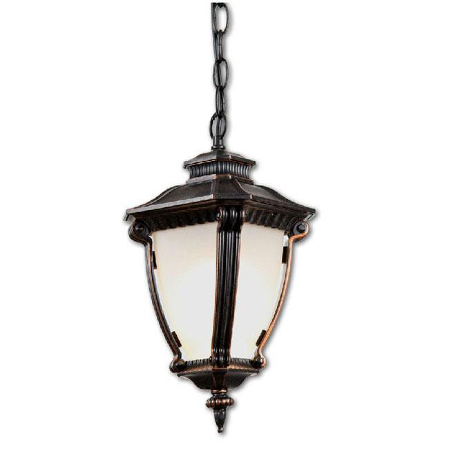 sp0702 outdoor metal and depolished glass pendant lighting