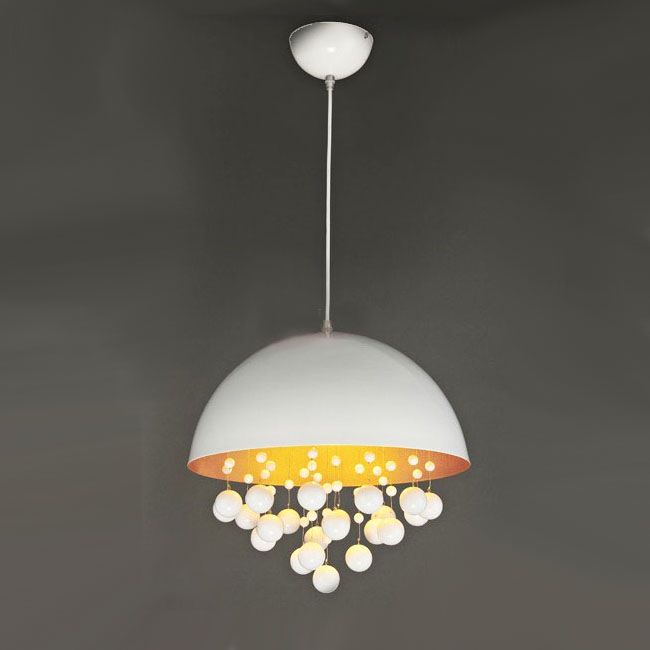 Modern Phoenix Metal Hang Balls Pendant Lighting 10039