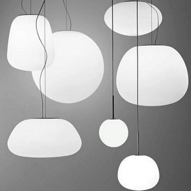 modern depolished glass ball pendant lighting 10080 ball pendant lighting