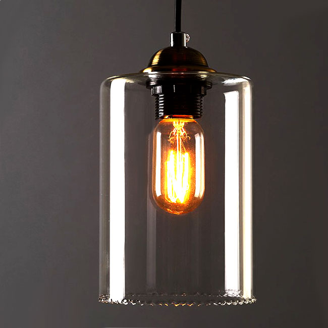 country style lighting. northic country clear glass pendant lighting 10365 style
