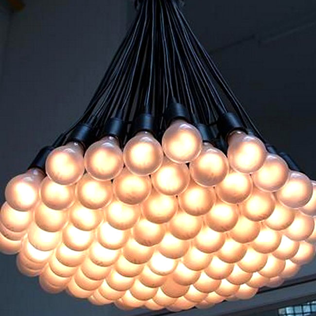 Modern Multi Matte Bulbs Pendant Lighting 10506 Browse