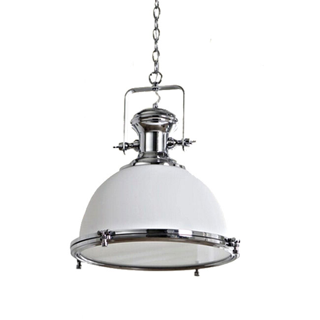 FRP Shade Pendant Lighting In Chrome Finish 10906 Browse