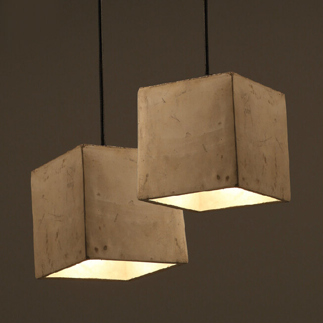 shade pendant lighting. country square cement shade pendant lighting 12041 s