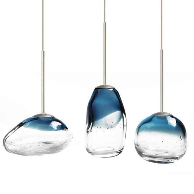 Modern Mini Blown Glass Art LED Pendant Lighting 12103 Browse Project Light