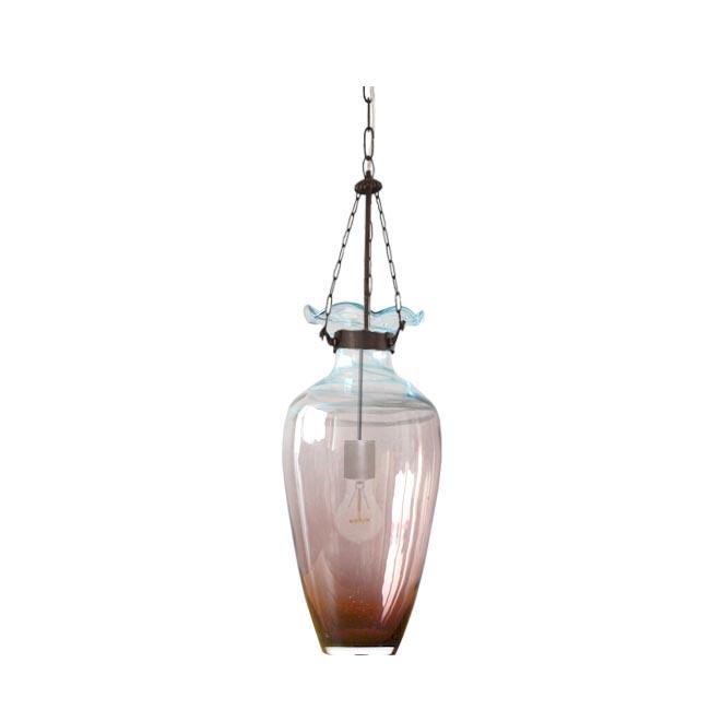 Modern Blown Glass Sky Bottle Pendant Lighting 12154