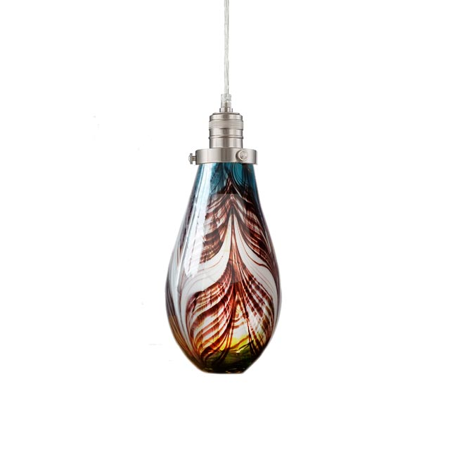 Modern Astride Blown Glass Pendant Lighting 12155 Browse