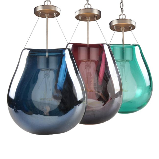 Annabelle Modern Blown Glass Pendant Lighting 12171