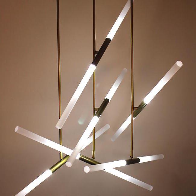 Modern LED Strips Pendant Lighting 12284