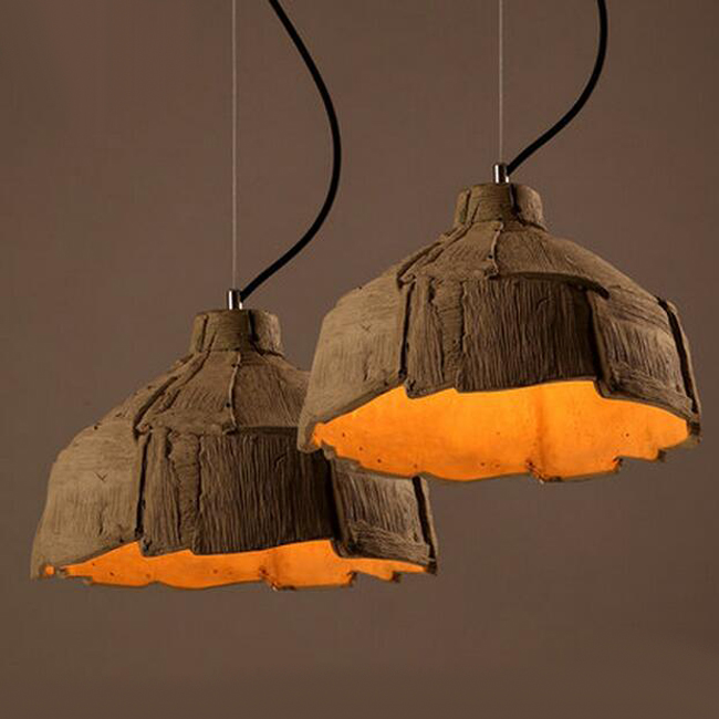 Modern Cement Pendant Lighting 12355 Browse Project