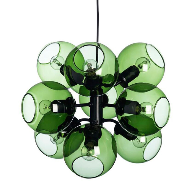 Taklampa Green Glass Orbs Pendant Lighting 12624 : Browse Project ...