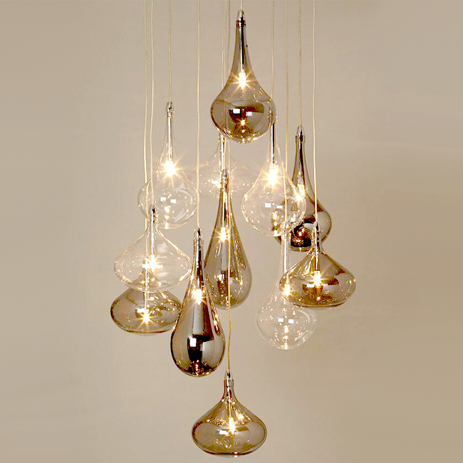Rhian 12 Light Cluster Pendant Lighting 12782 Browse