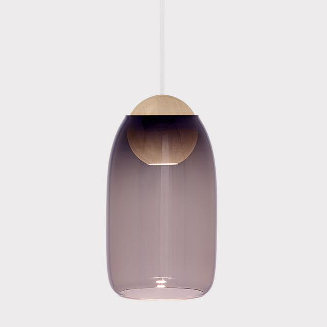 Alex Glass and Wood Pendant Lighting 13502