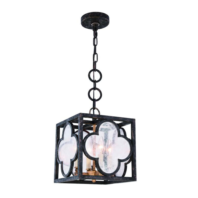 4-Light Aged Copper Finish Pendant Lighting 13955