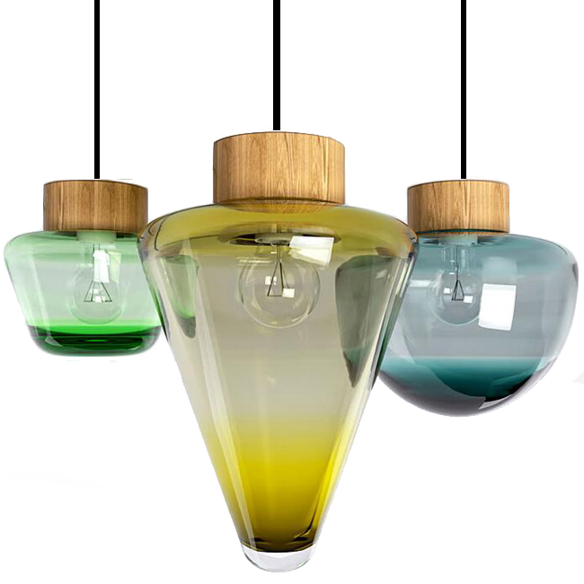 blown glass pendant lighting hand mini lights uk nz australia