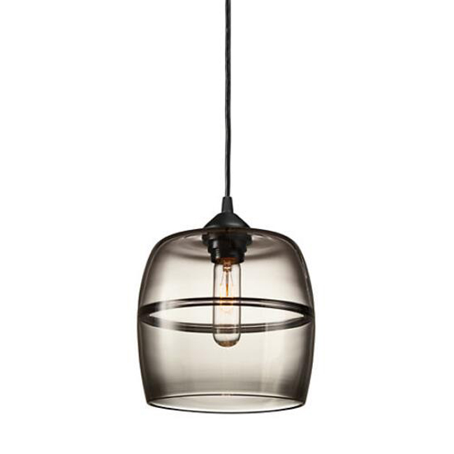 hennepin banded drum pendant lighting - Drum Pendant Lighting