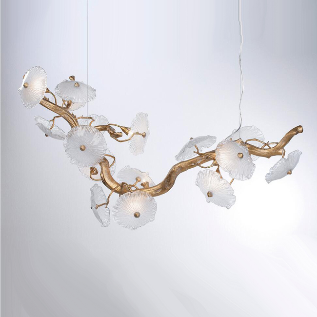 NENUFAR Murano glass pendant lighting 14661
