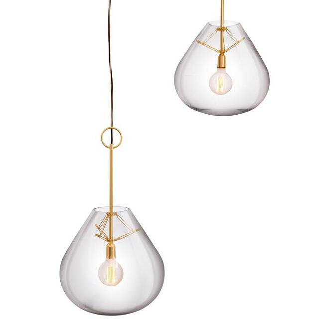Mush Blown Glass Pendant Lighting 14663