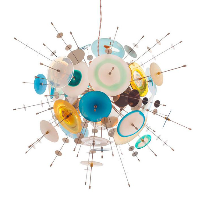Confetti Glass Pendant Light 17280