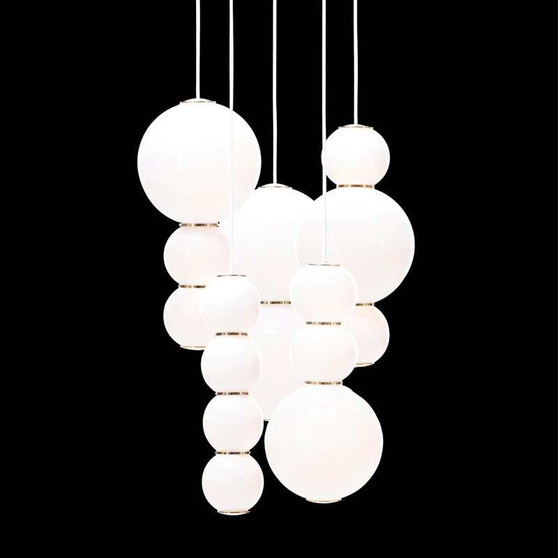 Pearls Chandalier 5 - ABCDE by Formagenda 18497