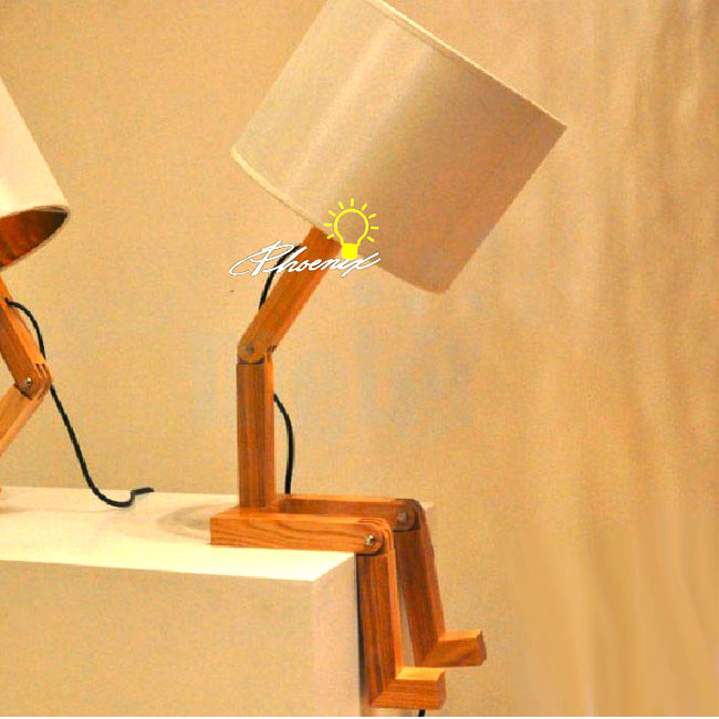 Lovely Wood Boy Table Lamp 8135 Browse Project Lighting and