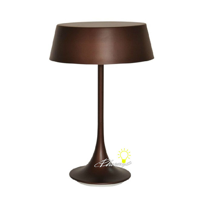 ArchimedesModern Simple Metal Table Lamp in Baking Finish 8648