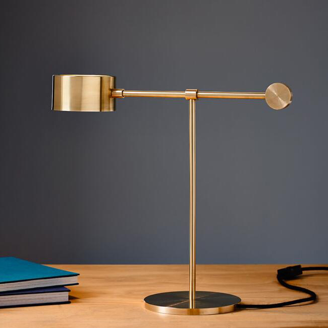 Balance Lamp in Brass 13861