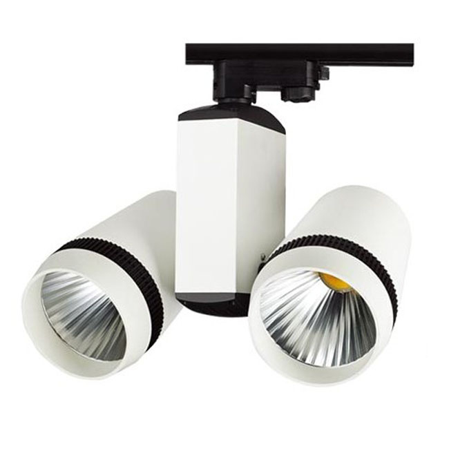 40W LED Energy Efficient Track lights 7627