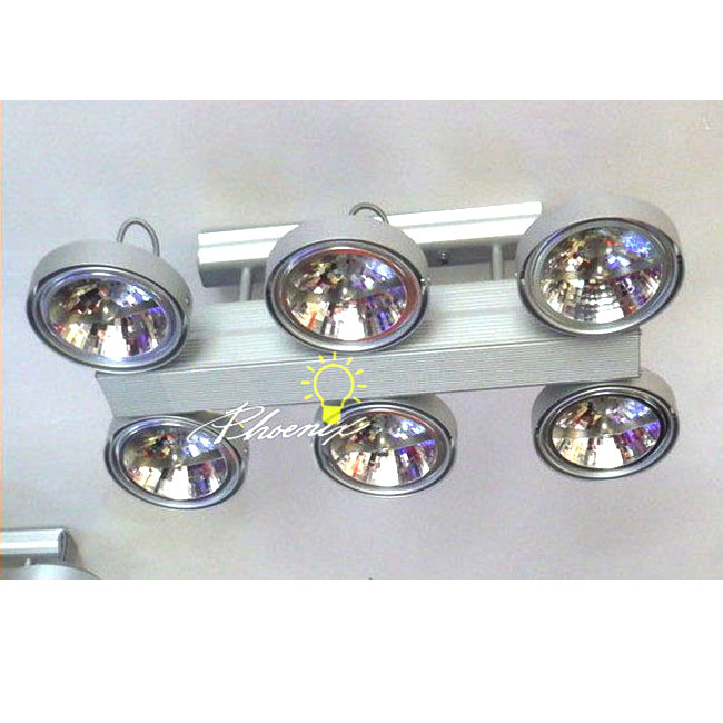12v 6 X50W Helogen Track lighting 7629